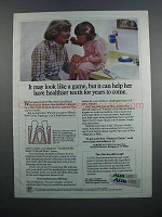 1983 Aim Toothpaste Ad - May Look Like a Game