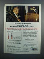 1983 Aim Toothpaste Ad - Teach Her Good Habits Now