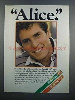 1983 Close-up Toothpaste Ad - Alice