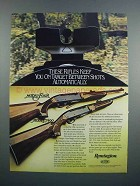 1983 Remington Model Four and Model 7400 Rifles Ad