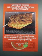 1983 Keebler Ready-Crust Ad - Dutch Apple Pie Recipe