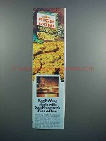 1983 Rice-A-Roni Fried Rice Mix Ad - Egg Fu Yung