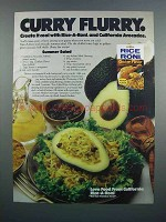 1983 Rice-A-Roni Chicken & California Avocados Ad