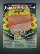 1983 Armour Golden Star Ham & Dole Pineapple Ad