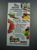 1983 Brach''s Candy Ad - The Secret
