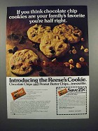 1983 Reese's Peanut Butter Chips Ad - Family's Favorite