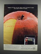1983 Minute Maid Apple Juice Ad - There's a Secret