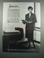 1983 Evan Picone Coat Dress, Kidskin Pumps & Hosiery Ad