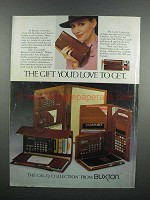 1983 Buxton Cal-Q-Collection Ad - Clutch, Secretaries