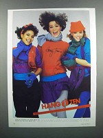 1983 Hang Ten Women's Fashion Advertisement