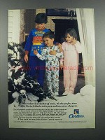 1983 Carter's Blanket and two-Piece Sleepers Ad