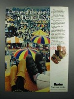 1983 Dexter Shoes Ad - On Top of the World