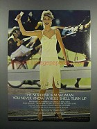 1983 Maidenform Sweet Nothings Camisole and Petti Ad