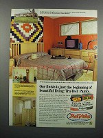 1983 True Value Tru-Test Paints Ad - Our Finish