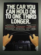 1983 Volvo Cars Ad - Hold On One Third Longer
