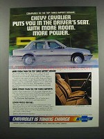 1983 Chevy Cavalier Ad - Puts You In Driver's Seat