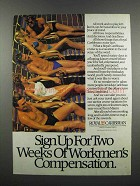 1983 Royal Caribbean Cruise Ad - Workmen's Compensation