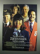 1983 Delta Airlines Ad - The Spirit of Delta