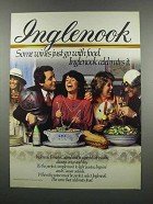 1983 Inglenook French Colombard Wine Ad - Go with Food