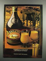1983 Baileys Irish Cream Ad - Major Celebrations
