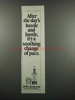 1983 Jameson Irish Whiskey Ad - After the Day's Hassle