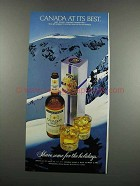 1983 Canadian Mist Whisky Ad - Canada At Its Best