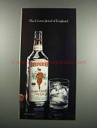 1983 Beefeater Gin Ad - The Crown Jewel of England