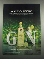 1983 Seagram's Gin Ad - Tickle Your Tonic