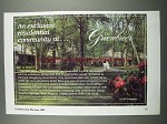 1983 The Greenbrier Village Ad - Residential Community