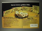 1983 Nabisco Dessert Cookies Ad - Every Golden Bite