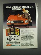 1983 Kmart Turtle Wax Color Back Products Ad