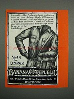 1983 Banana Republic Ad