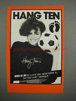 1983 Hang Ten Fashion Advertisement