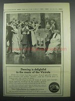 1914 Victor Victrola Ad - Dancing is Delightful
