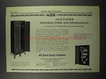 1929 All-Steel-Equip Company Lockers Ad
