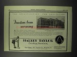 1929 Halsey Taylor Fountains Ad - College of Pharmacy