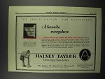 1929 Halsey Taylor No. 604 Drinking Fountain Ad