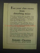 1929 Acousti-Celotex Tiles Ad - Free Your Class Rooms
