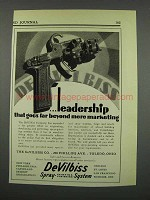 1929 DeVilbiss Spray-Painting Outfit Ad - Far Beyond
