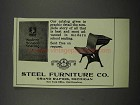 1929 Steel Furniture Co. Ad
