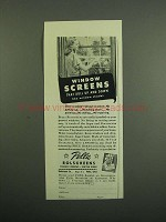 1950 Pella Rolscreens Ad - Window Screens
