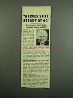 1950 General Foods Postum Drink Ad - Nerves Steady