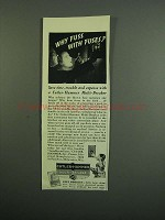 1950 Cutler-Hammer Multi-Breaker Ad - Why Fuss