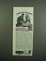 1950 Cutler-Hammer Multi-Breaker Ad - Planning Home?