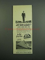 1950 United States Rubber Company US Rug Underlay Ad