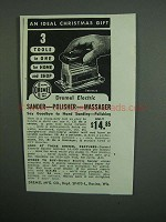 1950 Dremel Sander-Polisher-Massager Ad - Ideal Gift