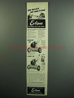 1951 Eclipse Rocket 20 and Lark 18 Lawn Mower Ad