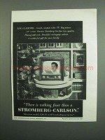 1951 Stromberg-Carlson Stafford Television Ad