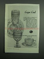 1951 Imperial Glass Corporation Cape Cod Crystal Ad