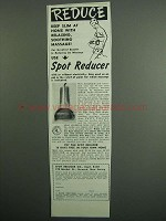 1951 Spot Reducer Massager Ad - Keep Slim at Home